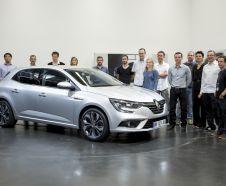 Renault Mega,e 4 2016 genèse design au technocentre Guyancourt