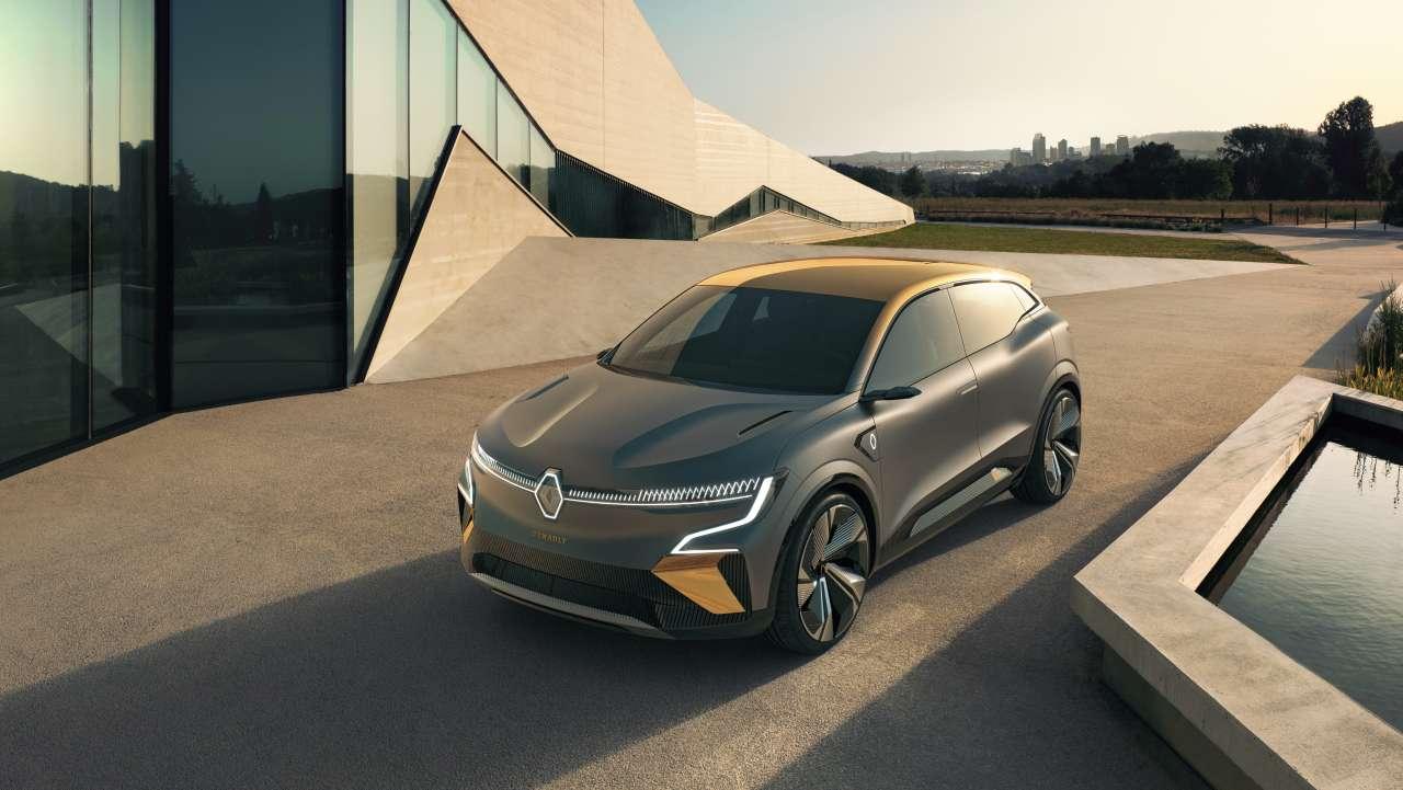 Renault Megane eVision (2020). La future compacte ...