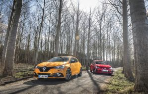 Renault Mégane RS 2018 vs Golf GTI : le match en 40 images