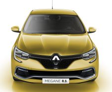 illustration photomontage Renault M�gane RS 2018 vue avant