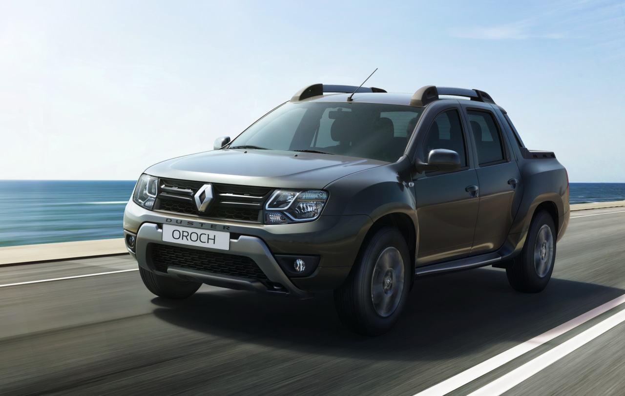 renault duster oroch 2015 premi res photos du duster pick up l 39 argus. Black Bedroom Furniture Sets. Home Design Ideas