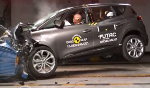 crash test renault scénic