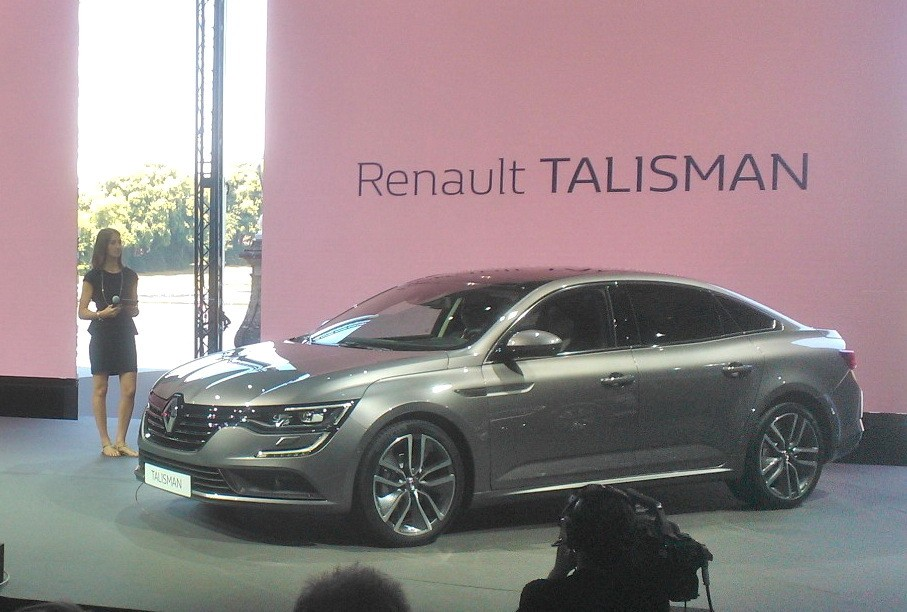 en direct pr sentation de la renault talisman la nouvelle laguna photo 16 l 39 argus. Black Bedroom Furniture Sets. Home Design Ideas