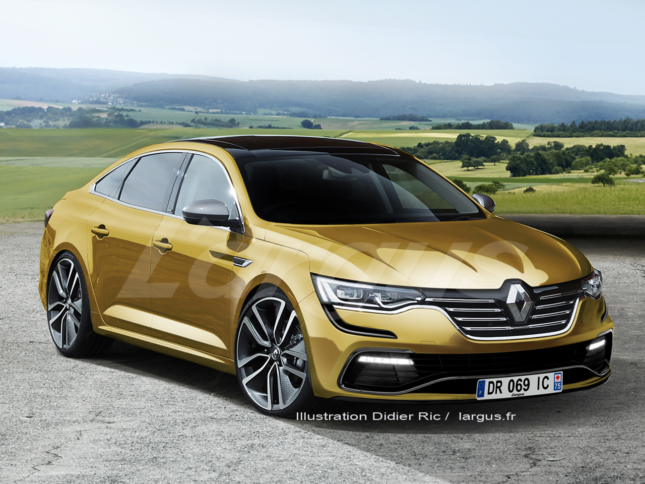 renault talisman rs l 39 h riti re de la safrane biturbo photo 1 l 39 argus. Black Bedroom Furniture Sets. Home Design Ideas