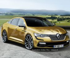 illustration photomontage Renault Talisman RS