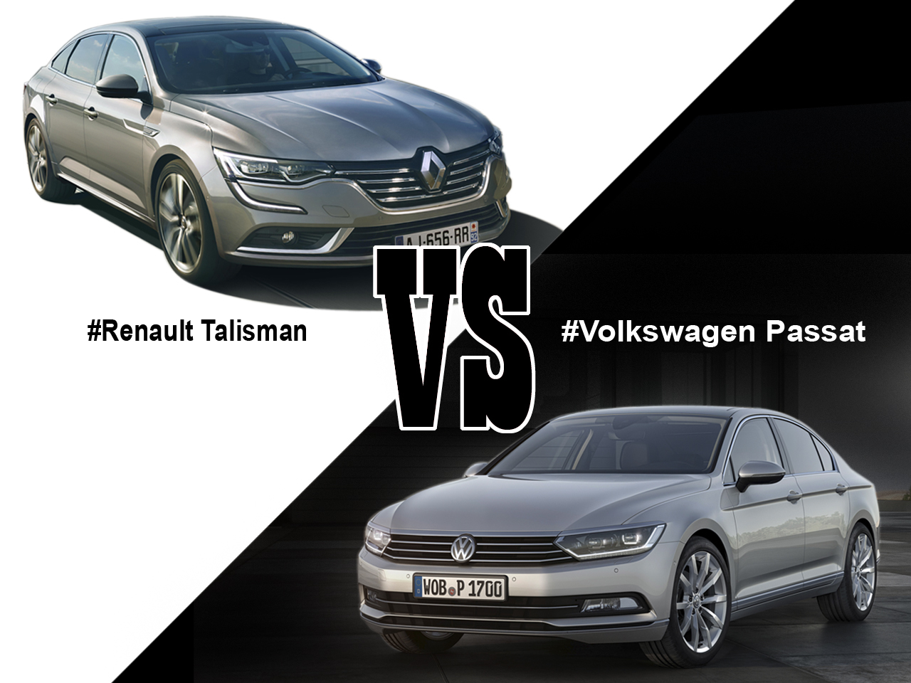 renault talisman vs volkswagen passat premier match l 39 argus. Black Bedroom Furniture Sets. Home Design Ideas