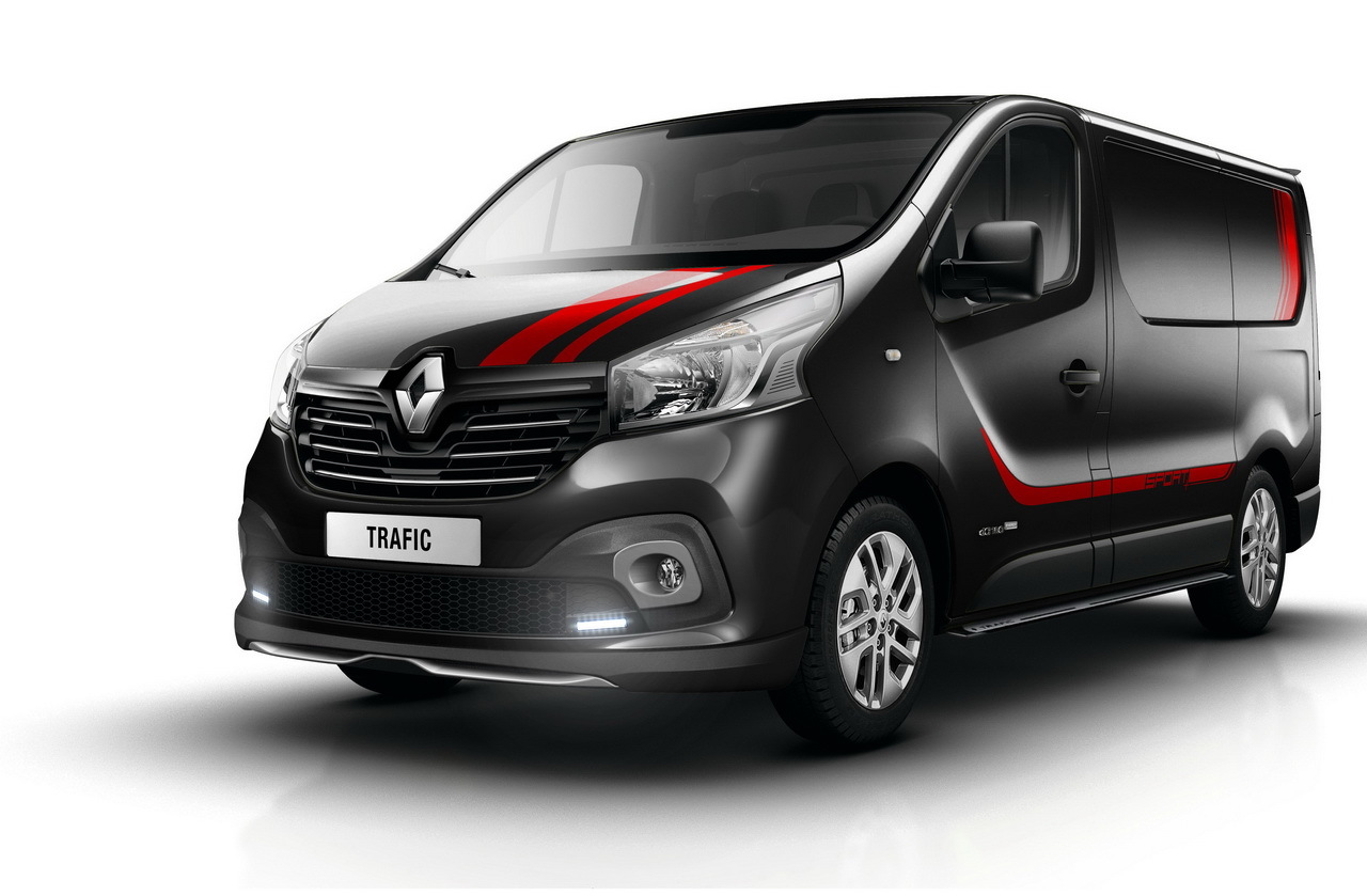 renault trafic sport un pack sport pour l 39 utilitaire. Black Bedroom Furniture Sets. Home Design Ideas