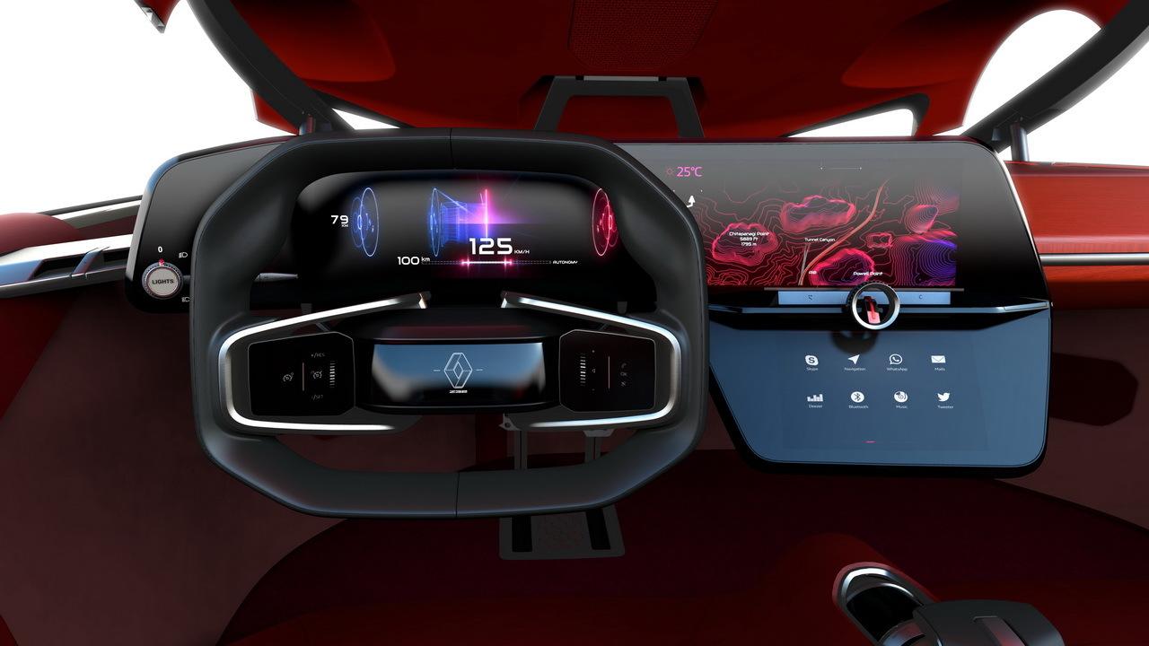 en images les secrets du concept car renault trezor photo 16 l 39 argus. Black Bedroom Furniture Sets. Home Design Ideas