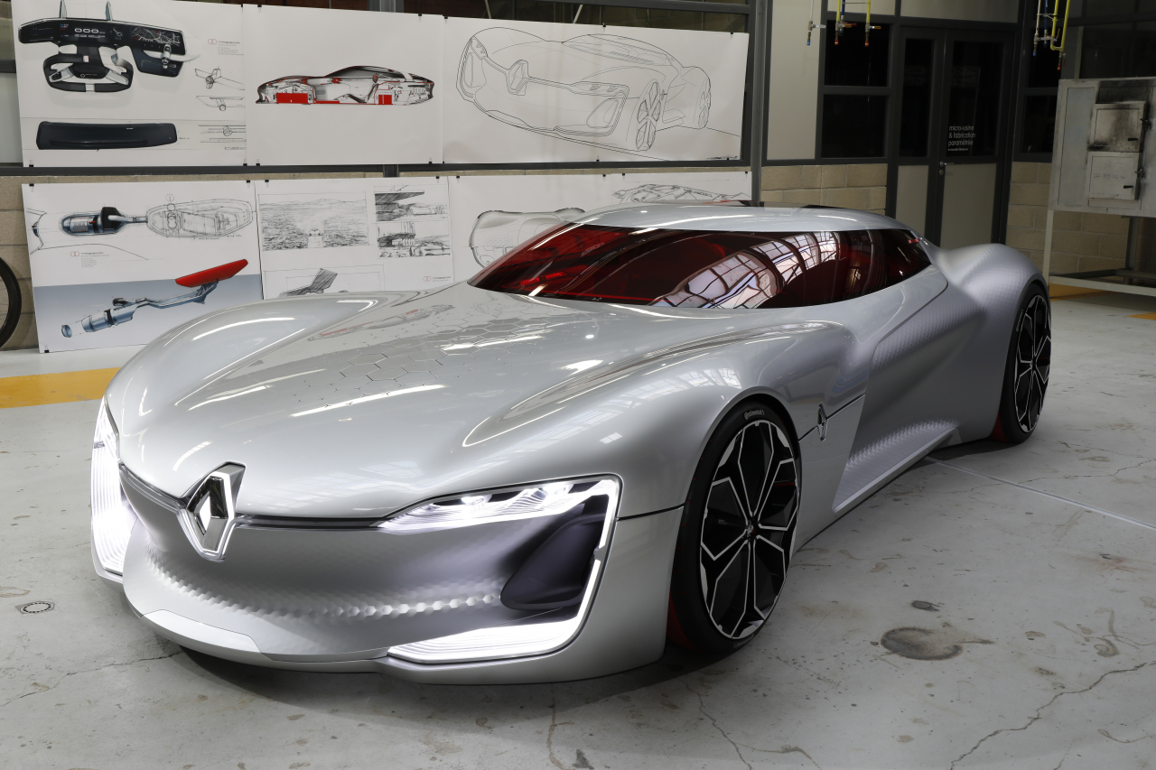 en images les secrets du concept car renault trezor photo 4 l 39 argus