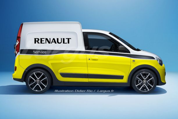 l 39 utilitaire virtuel du vendredi 3 la renault twingo express l 39 argus. Black Bedroom Furniture Sets. Home Design Ideas