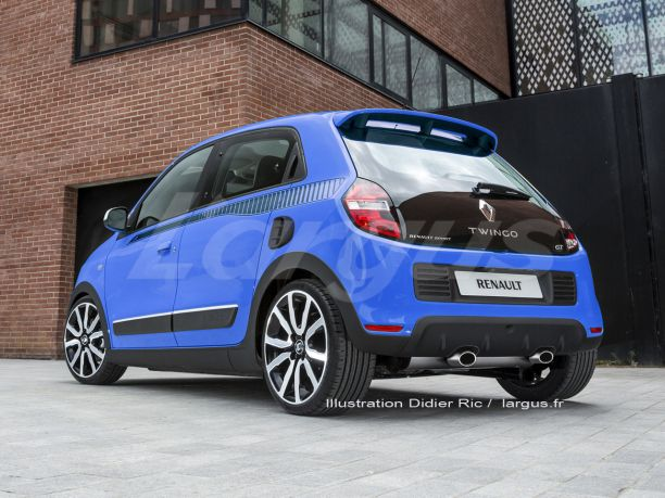 renault twingo gt 2016 l 39 h riti re sportive de la twingo rs l 39 argus. Black Bedroom Furniture Sets. Home Design Ideas