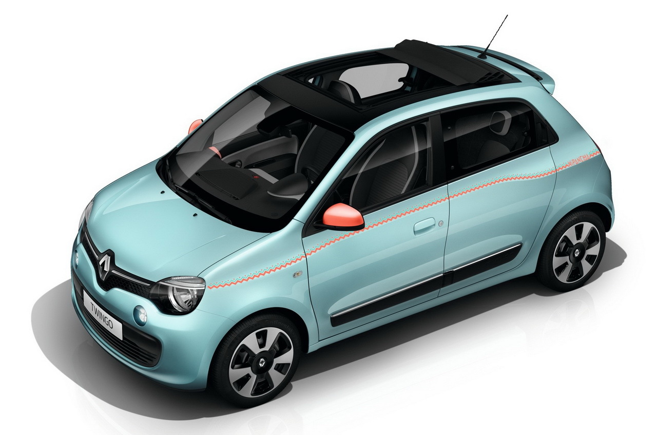 renault twingo hipanema nouvelle s rie sp ciale color e l 39 argus. Black Bedroom Furniture Sets. Home Design Ideas
