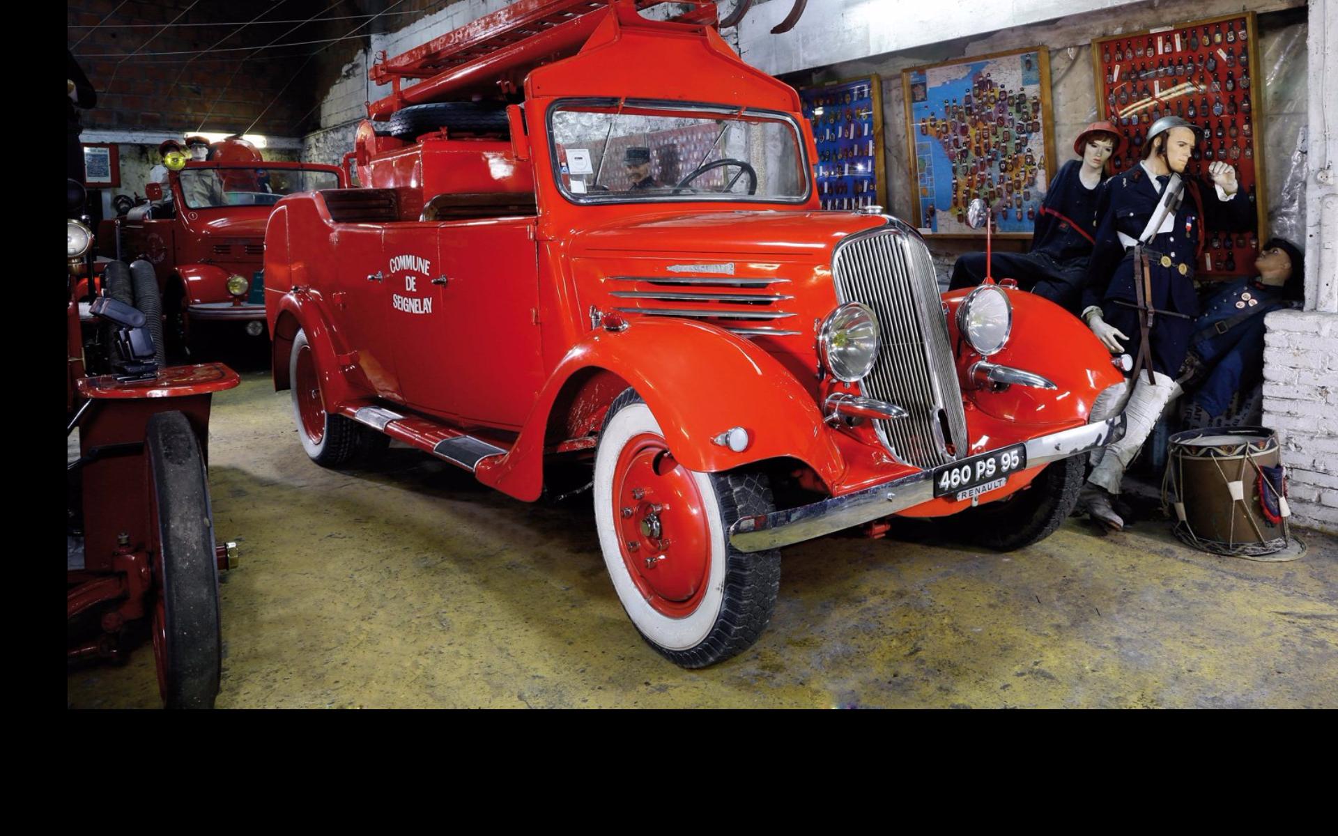 des anciens v hicules de pompiers mis en vente aux ench res renault type agc 1938 l 39 argus. Black Bedroom Furniture Sets. Home Design Ideas