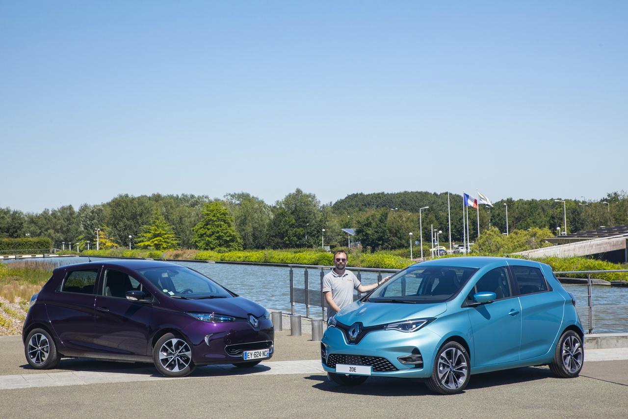 Renault Zoé 1 vs Renault Zoé 2 : qu'est-ce qui change ?