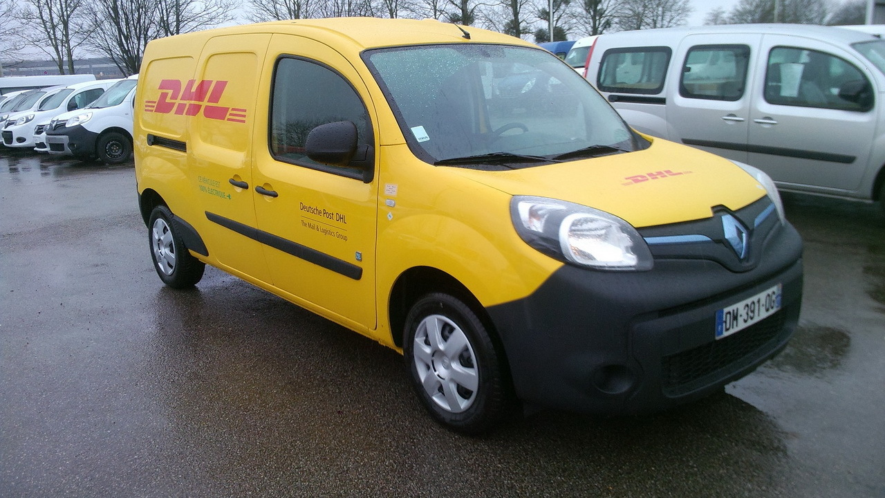 dhl exp rimente la livraison avec un renault kangoo hydrog ne l 39 argus. Black Bedroom Furniture Sets. Home Design Ideas