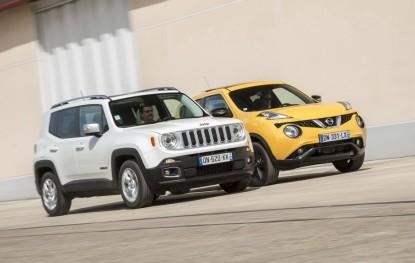 essai comparatif jeep renegade vs nissan juke les fortes t tes jeep auto evasion forum. Black Bedroom Furniture Sets. Home Design Ideas