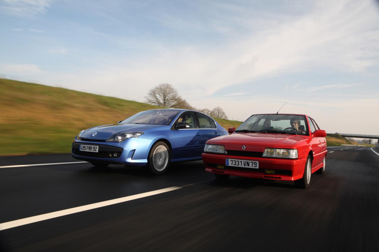 Renault Laguna GT vs Renault 21 Turbo : c'était mieux avant ...