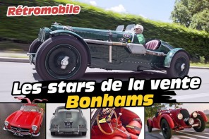 vente bonhams grand palais rétromobile 2017