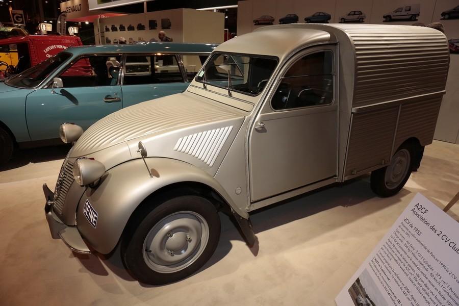 r tromobile 2017 le stand citro n en images citro n 2cv fourgonnette 1952 l 39 argus. Black Bedroom Furniture Sets. Home Design Ideas