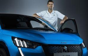 Novak Djokovic Peugeot Roland-Garros 2020