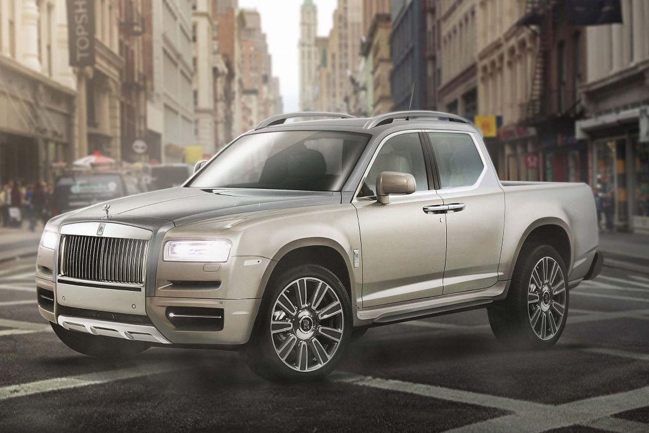 Les bagnoles insolites de juin 2017 - Rolls-Royce pick-up ...