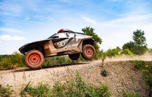 Audi RS Q e-tron saut