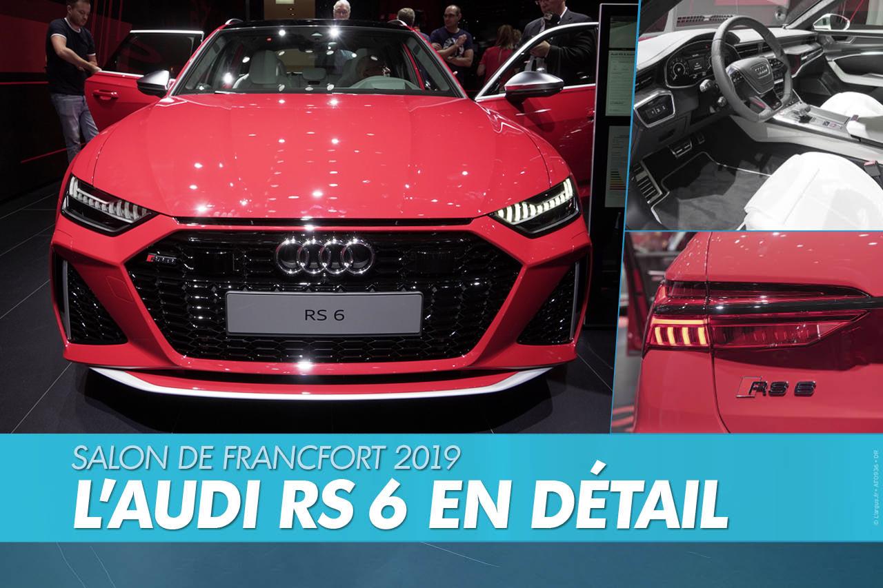 Audi RS 6 (2019) : En images. L'Audi RS6 en détail.