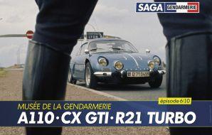 Alpine A110, Citroën CX GTI et Renault 21 Turbo Quadra BRI