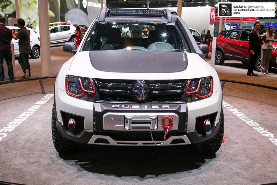 renault duster extreme le duster tr s baroudeur du salon de sao paulo photo 11 l 39 argus. Black Bedroom Furniture Sets. Home Design Ideas