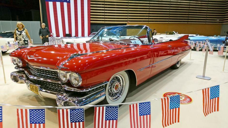 les insolites du salon automobile de lyon 2017 cadillac coup deville convertible 1959 l 39 argus. Black Bedroom Furniture Sets. Home Design Ideas