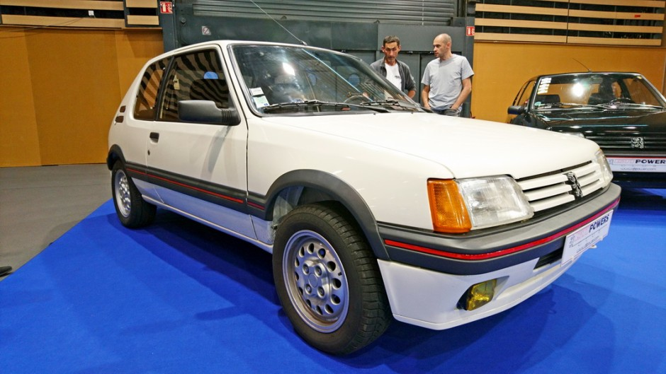 les insolites du salon automobile de lyon 2017 peugeot 205 gti l 39 argus. Black Bedroom Furniture Sets. Home Design Ideas
