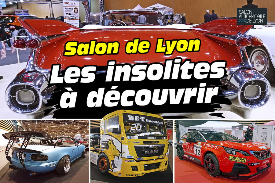 les insolites du salon automobile de lyon 2017 photo 1 l 39 argus. Black Bedroom Furniture Sets. Home Design Ideas