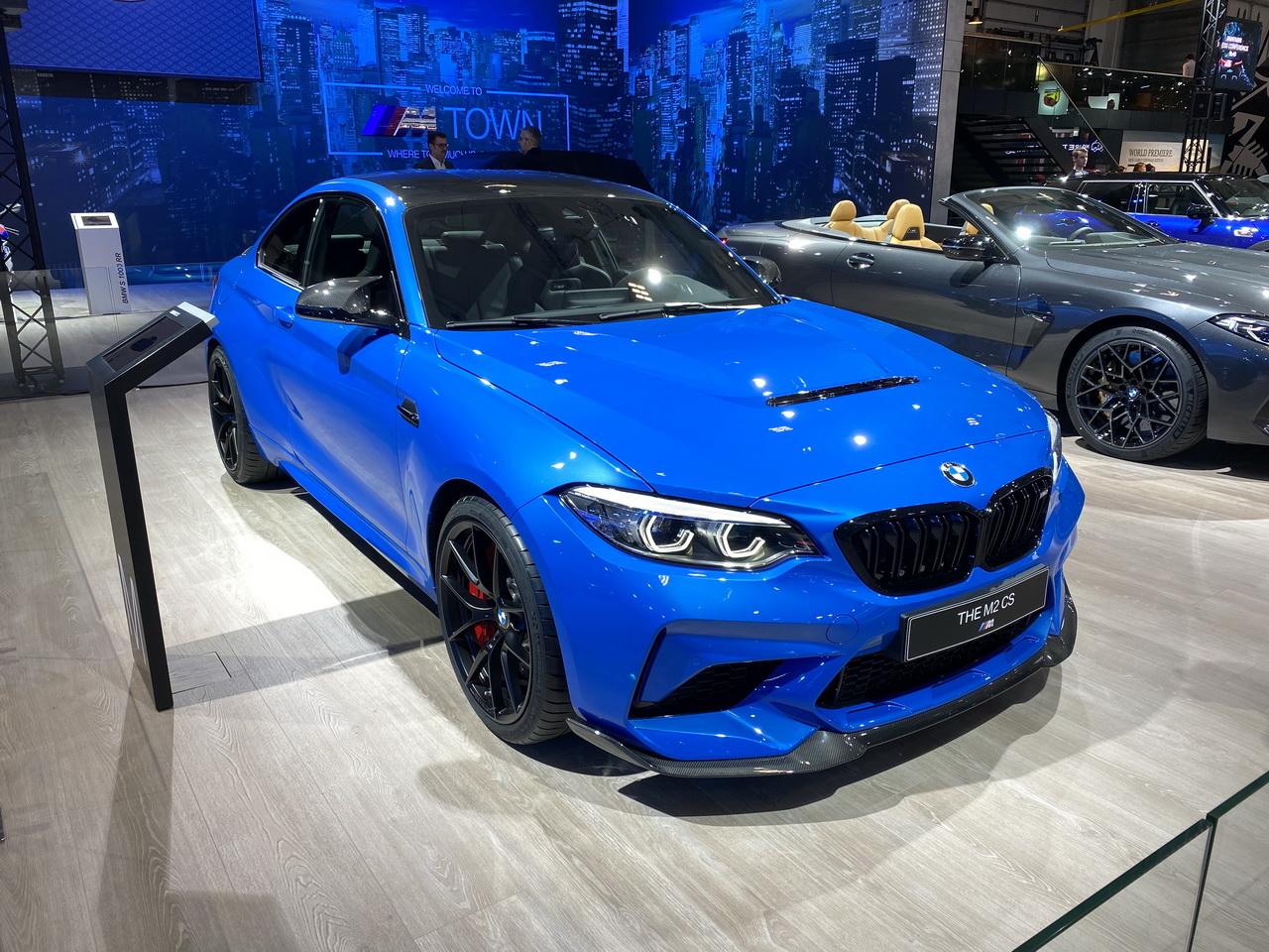 BMW M2 CS (2020) : à bord d'une sportive exclusive