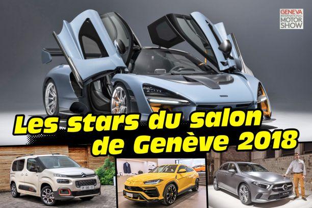 Salon Genève 2018 Les Stars à Laffiche Du Salon Auto Suisse Largus