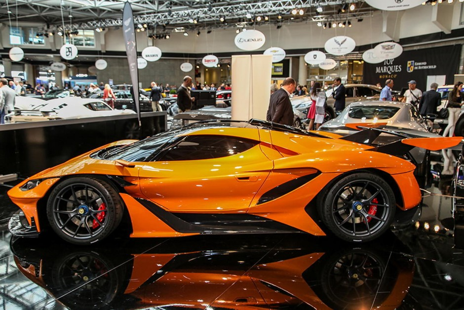 top marques monaco 2016 photos du salon des supercars et
