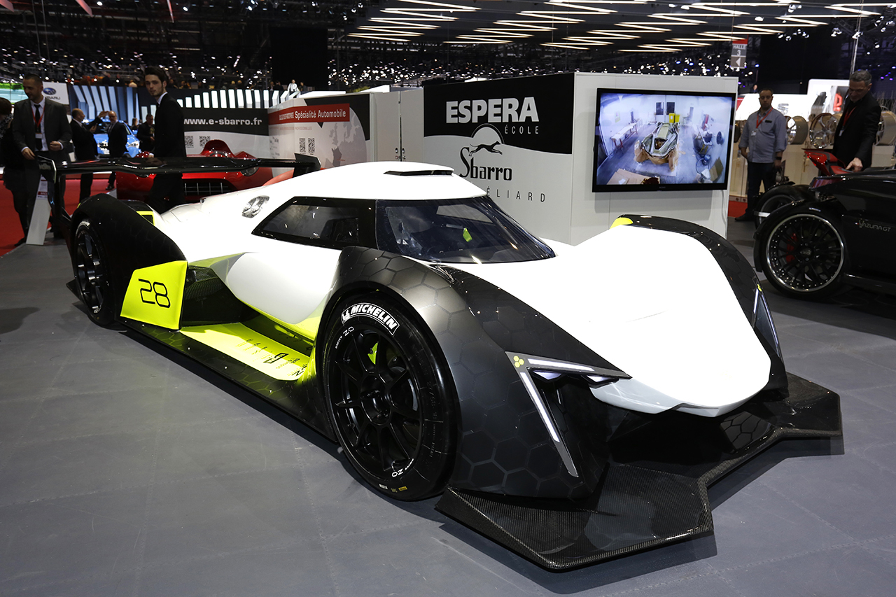Sbarro haze concept un concept car volutif d voil gen ve 2016 l 39 argus - Concept salon de the ...