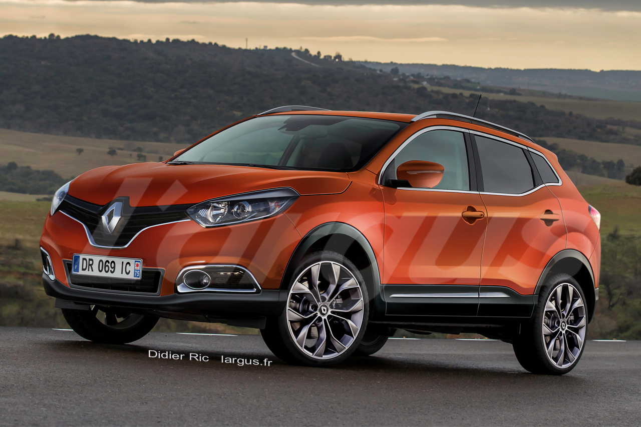 renault kadjar on conna t le nom du nouveau suv renault 2015 l 39 argus. Black Bedroom Furniture Sets. Home Design Ideas