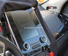 La tablette multim�dia plac�e en mode portrait � l'int�rieur de la rempla�ante de la Renault Laguna ressemble � celle du nouvel Espace 5.