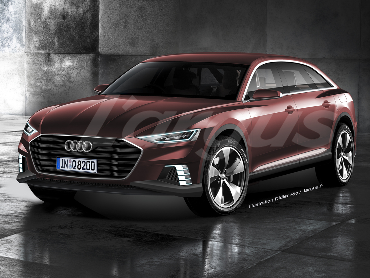 scoop salon de shanghai 2015 audi prologue allroad concept l 39 argus. Black Bedroom Furniture Sets. Home Design Ideas