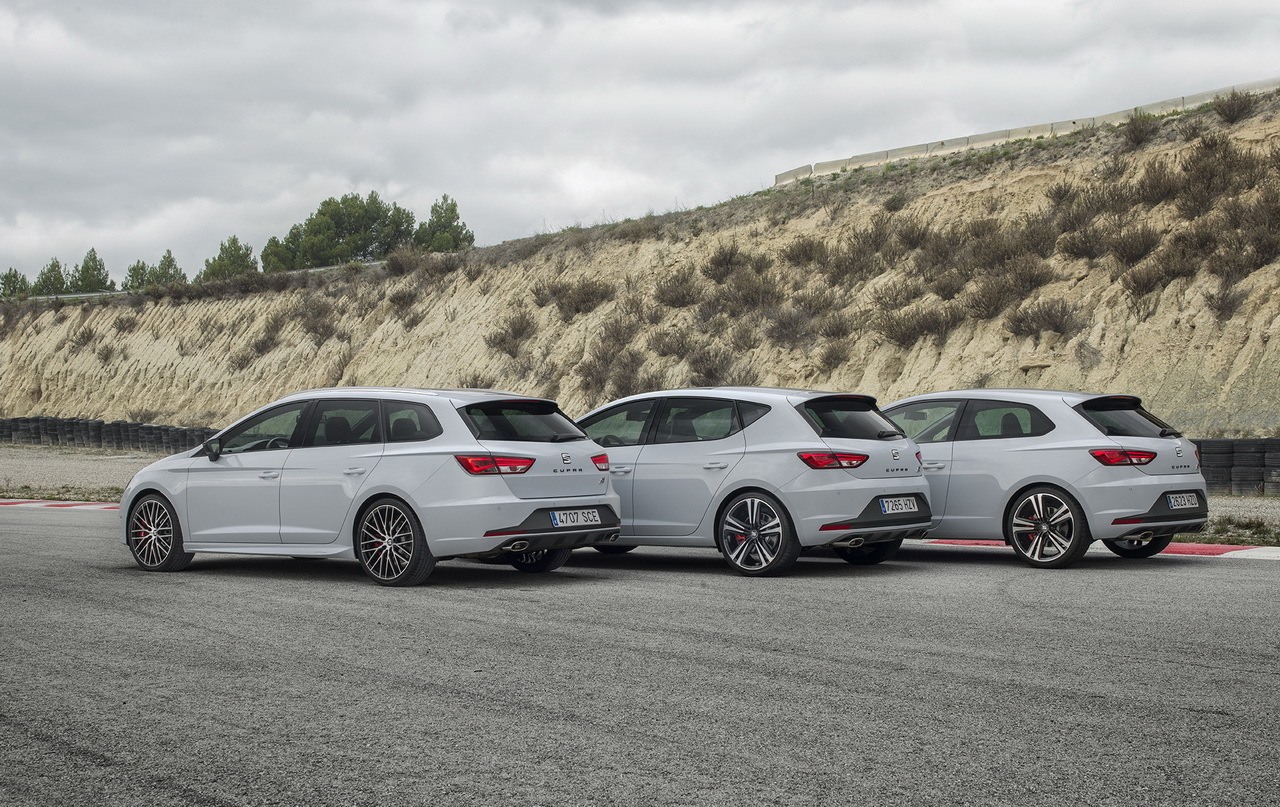 Seat leon st cupra 2015 le break le plus rapide sur le for Interieur seat leon