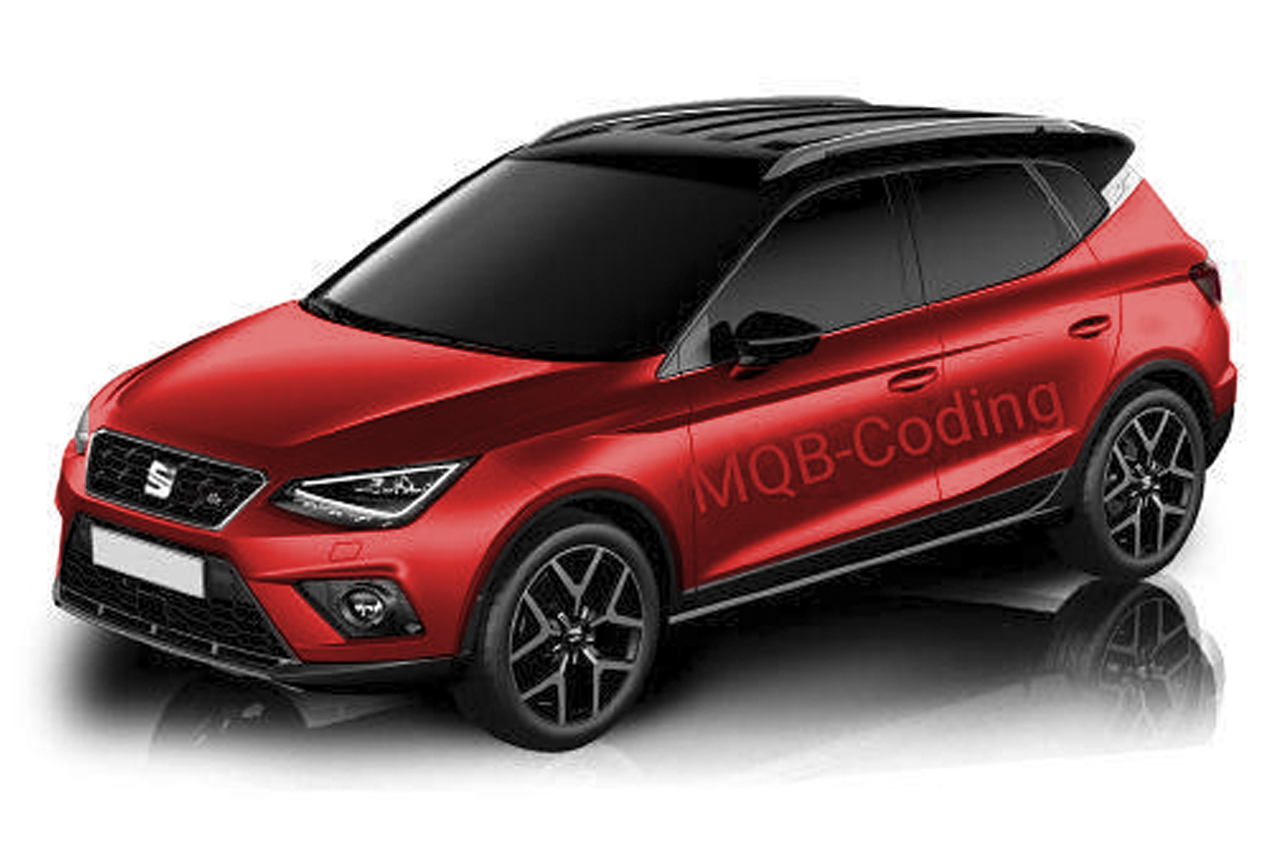 seat arona 2017 premi res images du petit suv urbain de seat seat auto evasion forum auto. Black Bedroom Furniture Sets. Home Design Ideas