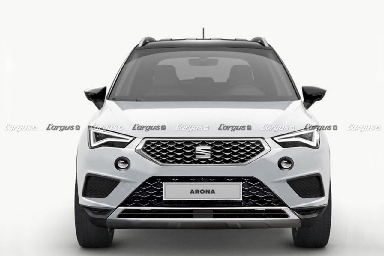 Seat Arona (2021) : un restylage bien visible prévu pour l'an prochain