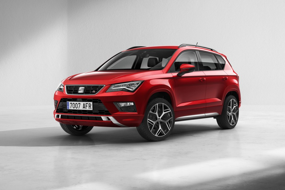 seat ateca cupra le suv compact de 300 ch est bient t pr t photo 2 l 39 argus. Black Bedroom Furniture Sets. Home Design Ideas