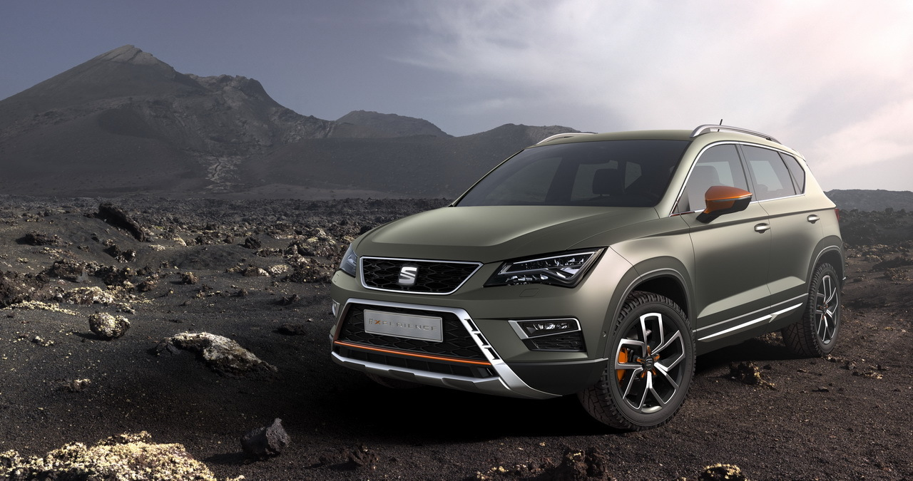 seat ateca x perience l 39 ateca en mode baroudeur au mondial l 39 argus. Black Bedroom Furniture Sets. Home Design Ideas