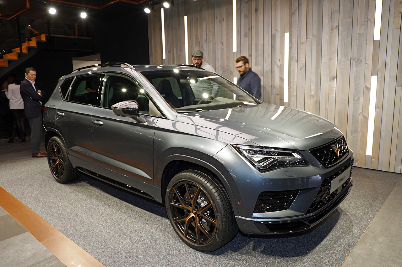 les nouveaux suv du salon de gen ve 2018 cupra ateca l 39 argus. Black Bedroom Furniture Sets. Home Design Ideas