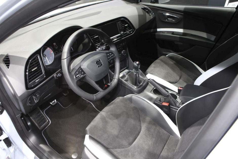 intrieur seat leon st cupra 290