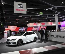 La Seat Leon ST Cupra 290 exposée au salon de Francfort 2015