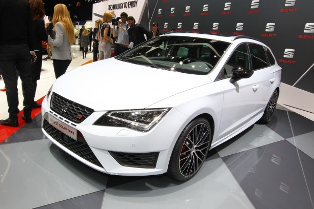 seat leon st cupra 2015 le break le plus rapide sur le n rburgring l 39 argus. Black Bedroom Furniture Sets. Home Design Ideas