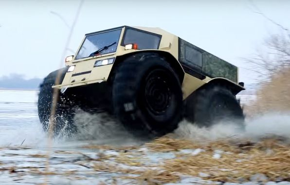 Sherpa ATV dynamique
