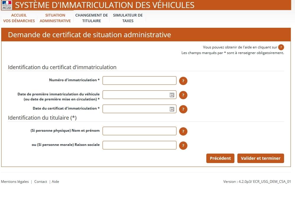 Certificat De Non Gage Attention Aux Sites Qui Vendent Du Gratuit